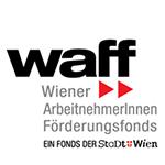 Logo waff - Wiener ArbeitnehmerInnen Förderungsfonds