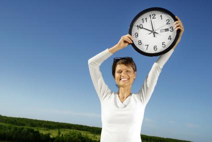 Bild mit Uhr - Registrierung in wenigen Minuten
